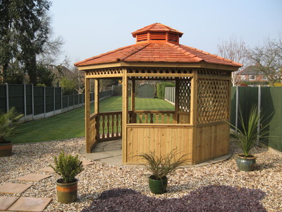 Rose cottage summer houses garden sheds in nottingham - Garden sheds nottingham ...