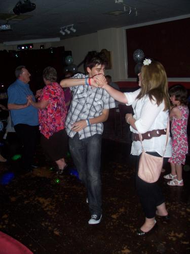 Wedding anniversary disco in Woolston