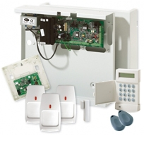 Honeywell G2 Hybrid wired and wireless alarm system