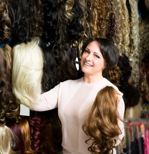 Hair Extensions, wigs and cancer grooming accessories