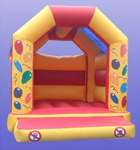 'A' Frame Bouncy castle