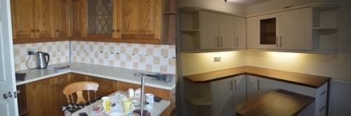 New Doors Removed Tiles Plastered Walls. Crewe