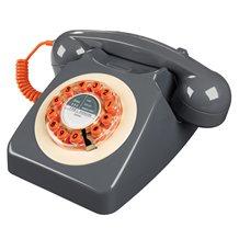 RETRO TELEPHONE 746 in Concrete Grey
