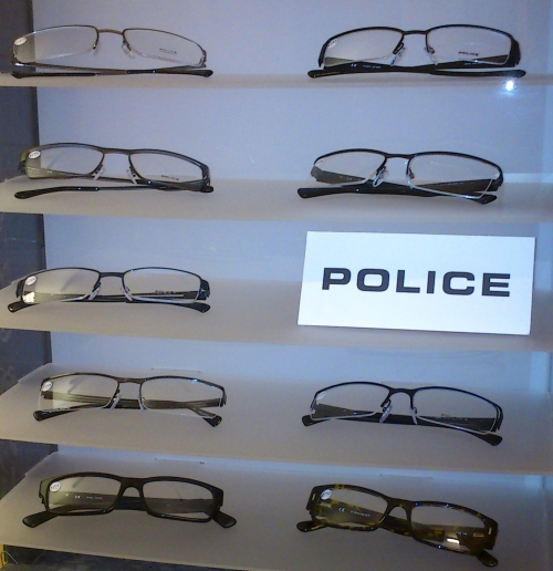 Police Frame Selection