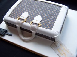 Louis Vuitton Case Cake