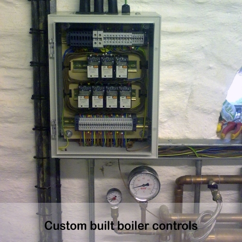 Custom Built Boiler Controls