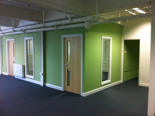 Office design and remodeling - New fit outs a speciality