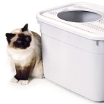 CleverCat Top Entry Cat Litter Box