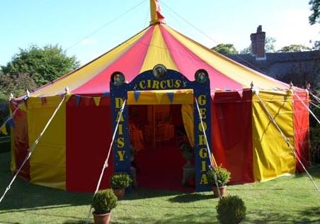 circus party devon cornwall