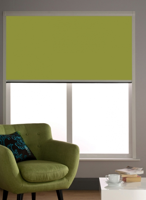 Blocout Cassette Blackout Blinds With Side Channels/ Tracks Room Darkening