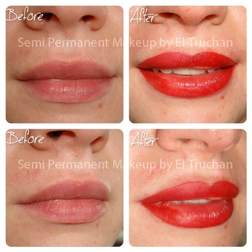 Full Lips Permanent Makkeup By El Truchan @ Perfect Definition