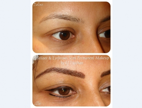 Eyebrows And Eyeliner Permanent Makeup By El Truchan @ Perfect Definition