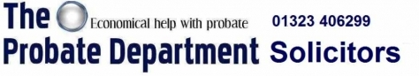 The Probate Department Solicitors 960