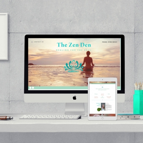 The Zen Den Template Website Designer Luke Jackson Design
