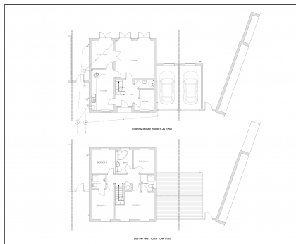 Two Storey Extension Plans