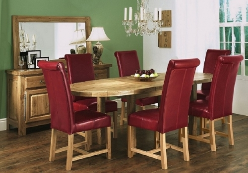 Windermere Solid Oak Dining and Living Room Furniture
