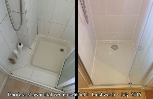 Shower Remodelling July 2015