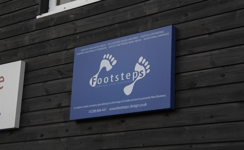 Footsteps Design Ltd Sign