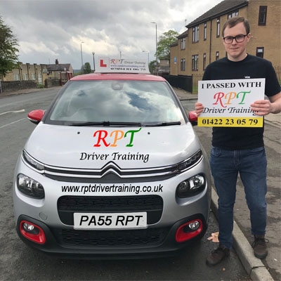 RPT Driver Training Driving Lessons Halifax Jordan Booth
