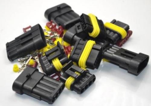 Electrical connectors.
