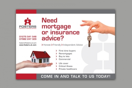 A3 Poster Design for mortgage company