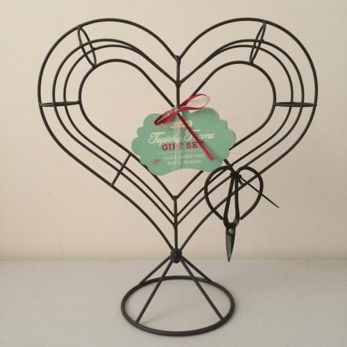 Heart Shaped Topiary Set - £9.99