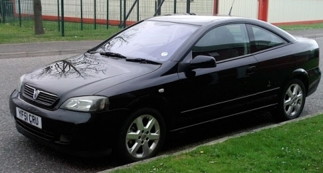 VAUXHALL ASTRA 2.2 16V COUPE 2001 MANUAL £1500      SOLD