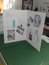 folding display panels on 5mm foamboard