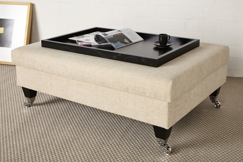Kensington Table stool with Black wooden tray