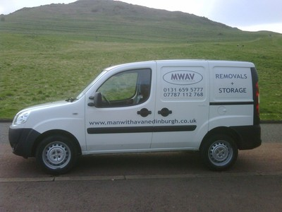 MWAV Small Van. Man with a van Edinburgh Ltd.