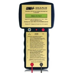 Act Gold Battery Tester