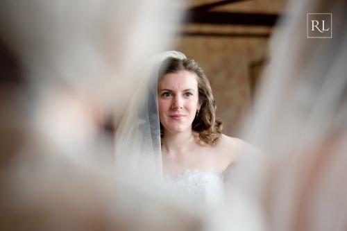 020 Bride In The Mirror At Burton Court