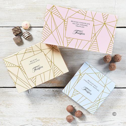 Trio of Chocolates gift set