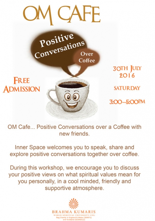 Om Cafe - Positive Conversation