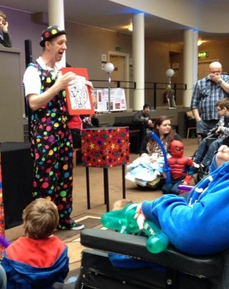 childrens entertainer at event party