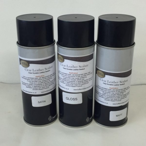 CLEAR LEATHER SEALANT