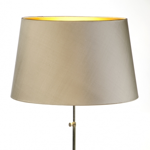 Laminated Taupe Lampshade