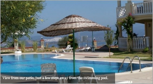 Bodrum Holiday Apartment with swimming pool.