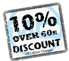 Over60s Discount