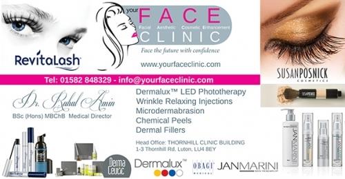 Face Clinic 2mx1 Banner