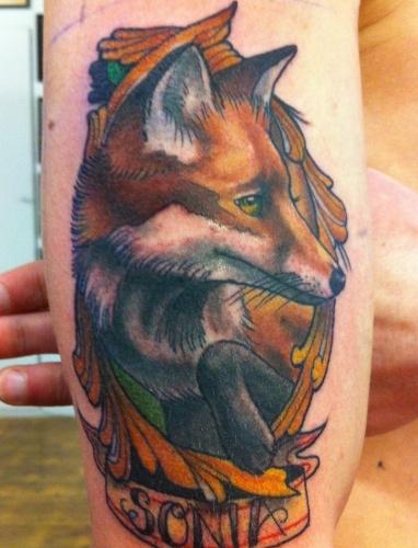 Tattoo by Oliver Jerrold - Cloak and Dagger Tattoo Parlour London