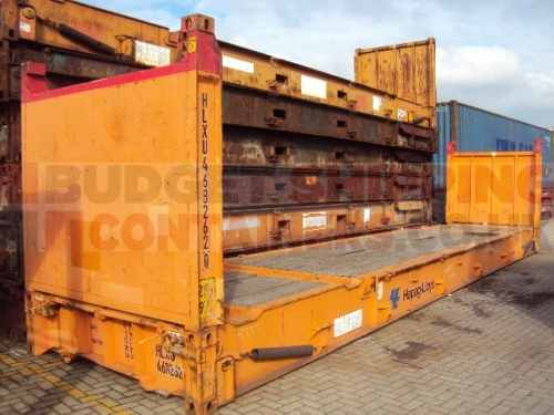 40ft Used Flat Rack Shipping Containers