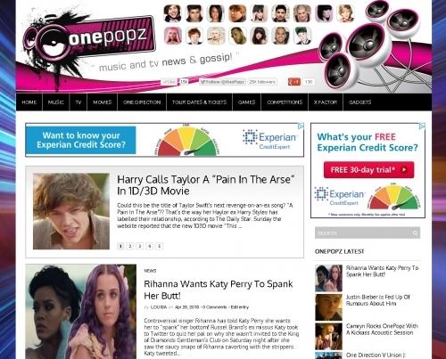 Website: OnePopz Music Gossip