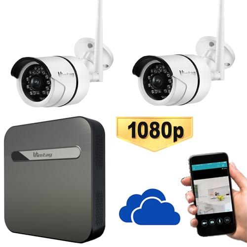 Home Security Wireless WiFi Outdoor IP Camera 1080p & Cloud Storage