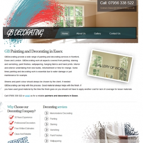 Painting and Decorating Site