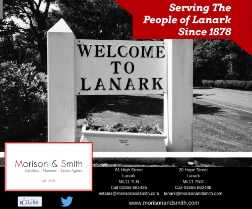 Morison and Smith Welcomes you to Lanark