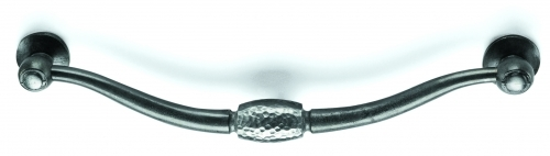 Pewter drop handle. Style 24 + 25 (Also available pewter latch handle.)
