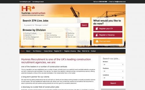 Humres Recruitment Jobs Site