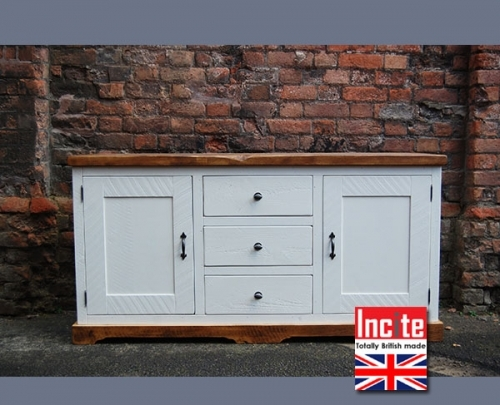 Rustic Painted Sideboard handmade to order by Incite Interiors Derbyshire