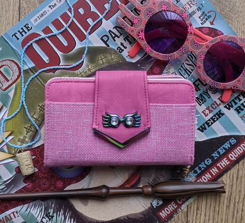 Harry Potter Luna Lovegood Pink Clutch Purse
